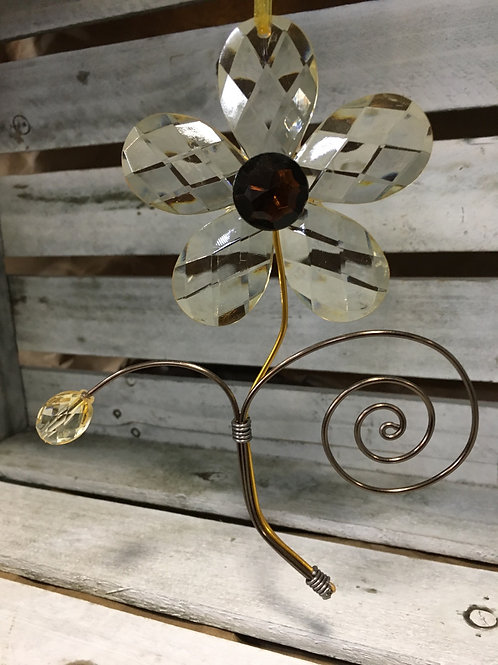 Acrylic and Wire Flower