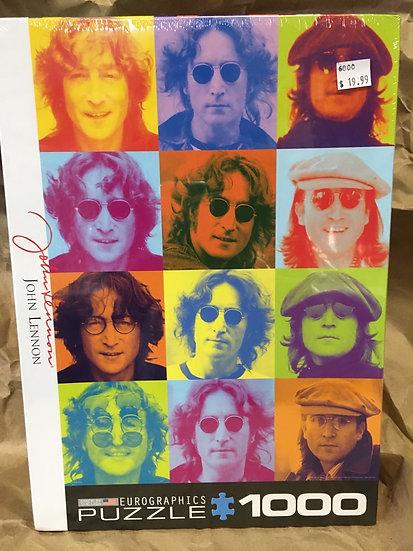 John Lennon Colour Portrait- 1000 Piece Puzzle