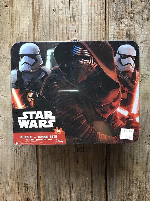 48 Piece Star Wars Children's Puzzle in a Tin