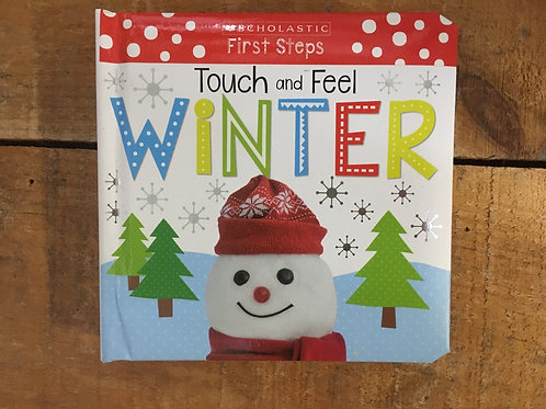 Touch and Feel Winter Board Book