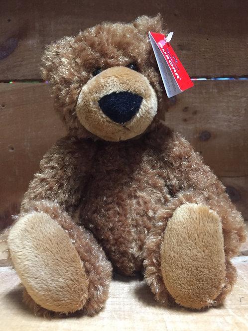 "6"" Caramel Slouchee Bear Plush Stuffed Animal"