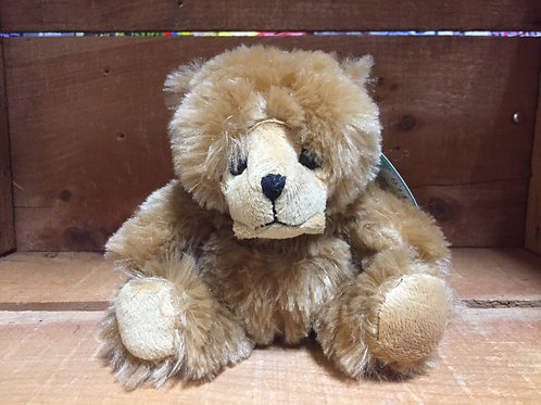 "6"" Light Brown Bear Plush Stuffed Animal"