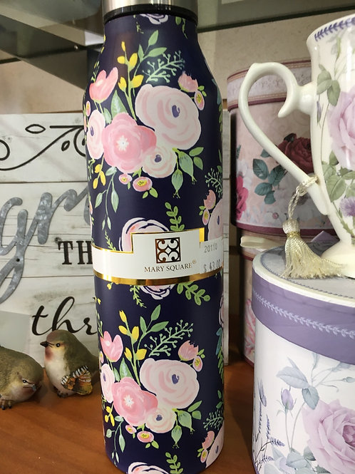 Mary Square Thermos and Water Bottle