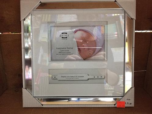Baby ID Bracelet Keepsake 4x6 Photo Frame by Prinz