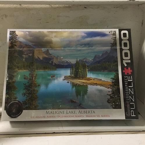 Malign Lake AB - 1000pc Eurographic Puzzle