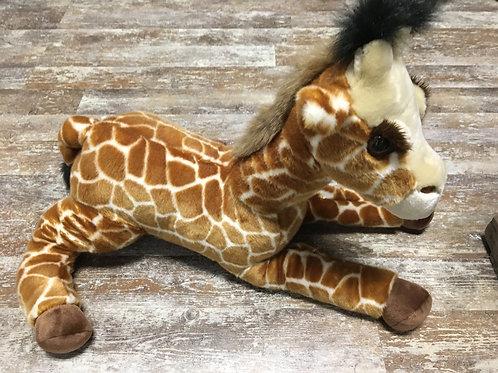 "18"" x 12"" Giraffe Aurora Brand Plush Stuffed Animal"