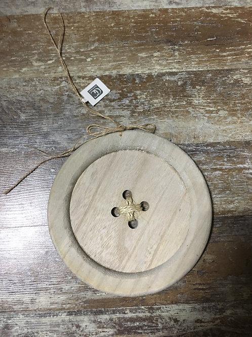 "7.75"" Button Christmas Tree Ornament"