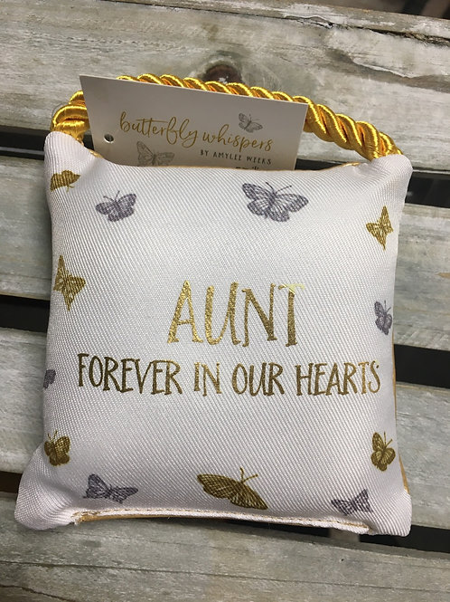 Small Comfort Pillow - Aunt