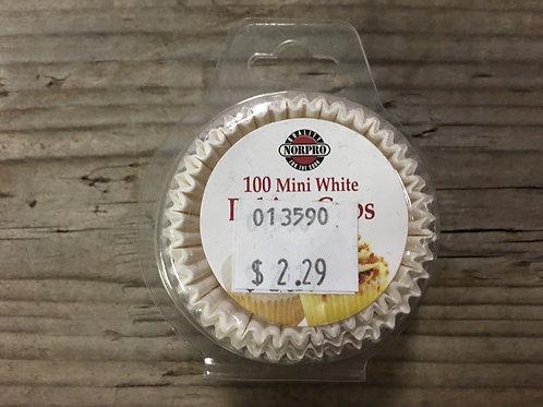 "100 1.25"" Diameter Mini Baking Cups by NorPro"