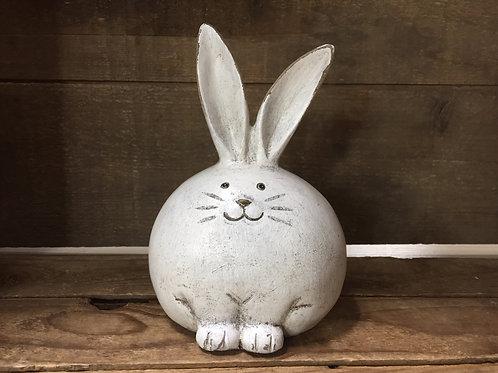 "6"" x 4.5"" x 4"" Bunny Rabbit Figurine Statue by Abbott"