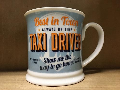 Taxi Driver Ceramic Mug