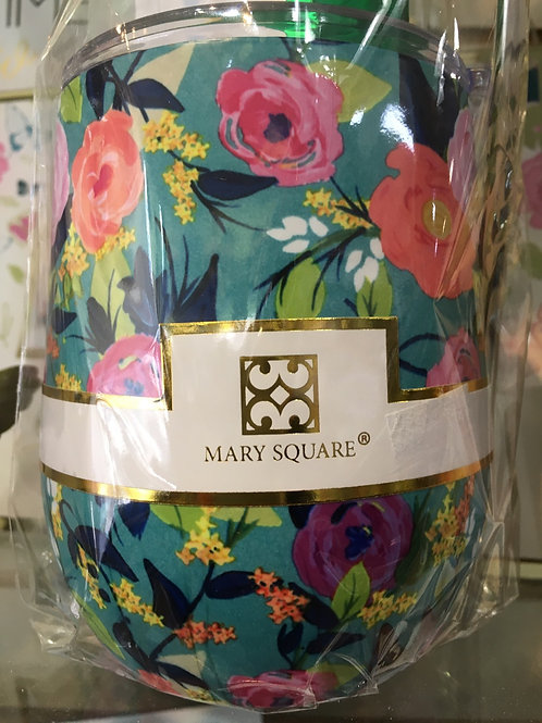 Mary Square Stemless Wine Glass