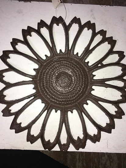 Cast Iron Flower