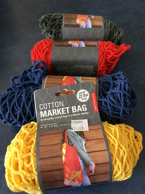 22lb Cotton Market Bag