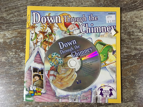 Down Through the Chimney Sing and Read Along Book