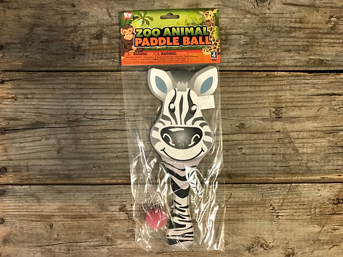 Zebra Paddle Ball Toy by CLS