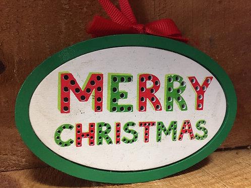 Christmas Tree Ornament - Final Sale