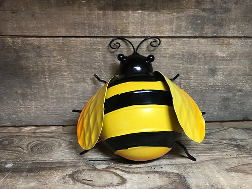 """6"""" x 6"""" x 7"""" Large Metal Bee with Hook by Frans Koppers"""