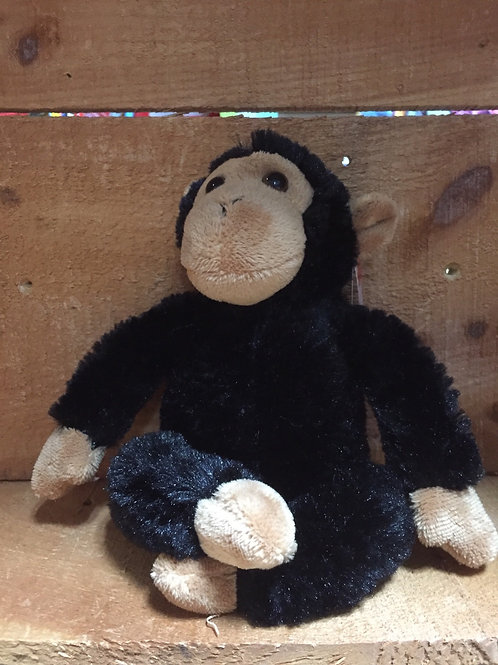 "6"" Clyde the Chimp Aurora Brand Plush Stuffed Animal"