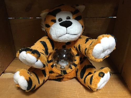 Roaring Tiger Plush Stuffed Animal Bank