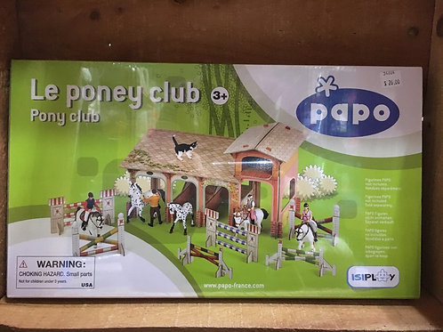 31 Piece 3D Pony Club Puzzle