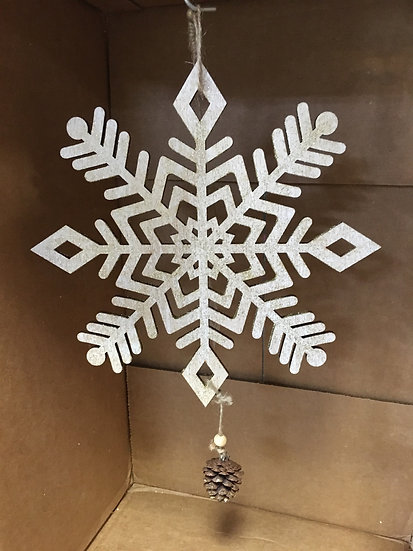 Pinewood Snowflake