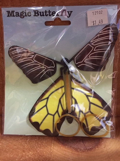 Yellow Magic Butterfly Toy