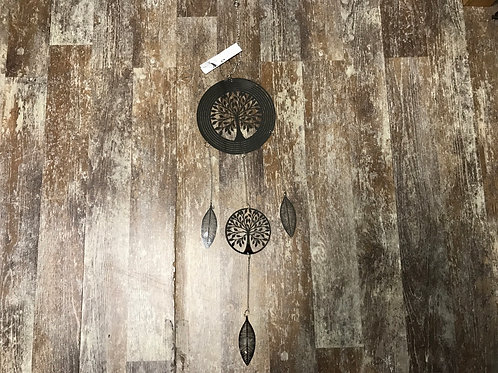 """36"""" x 7"""" Metal Tree of Life Wind Spinner by GiftCraft"""