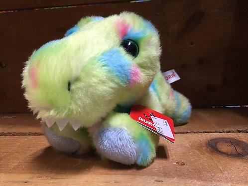 "8"" Pistachio the T-Rex Aurora Brand Plush Stuffed Animal"