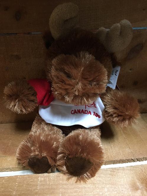 """8"""" Moose Canada 150 Plush Stuffed Animal"""