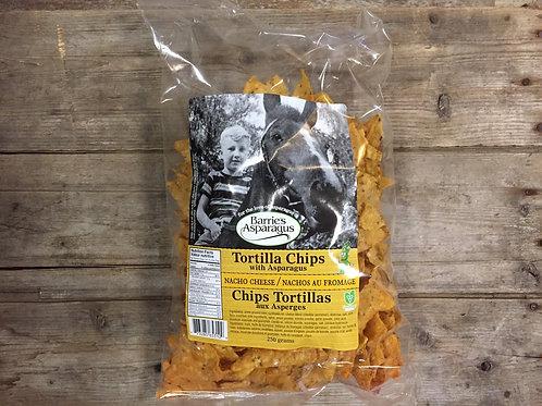 Barrie's Asparagus Nacho Cheese Tortilla Chips