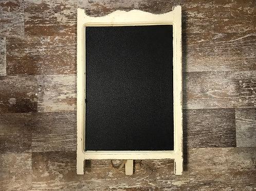 "16"" x 10"" White Wood Chalkboard Aisle by Stargazer Originals"