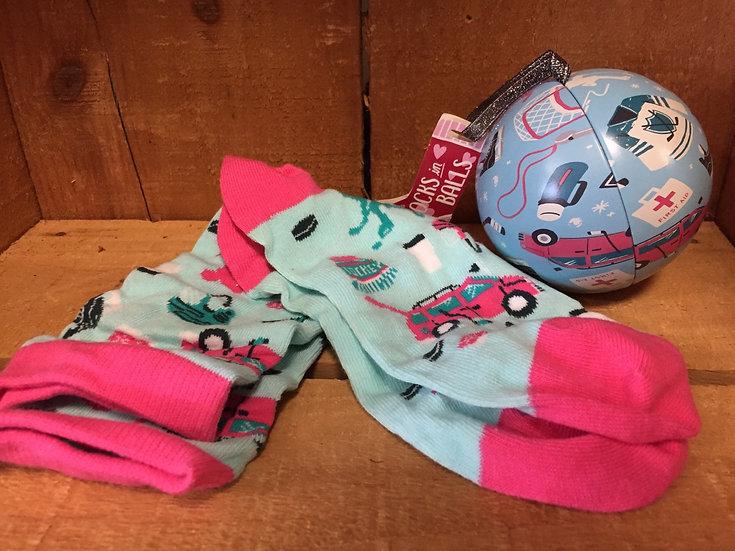 Women's Socks in Ornament