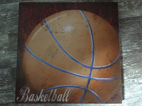 "Basketball 11"" x 11"" Canvas Print"