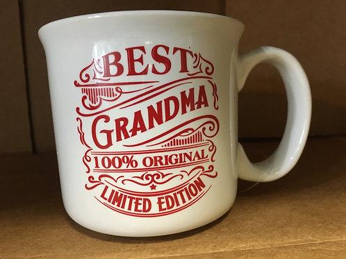 """Best Grandma"" Ceramic Mug"