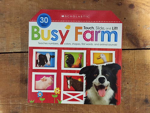Touch, Slide, and Lift Busy Farm Book