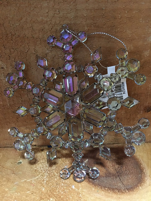 Acrylic Snowflake Christmas Tree Ornament