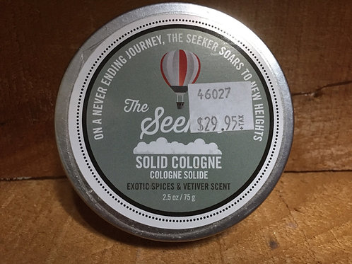 """""""The Seeker"""" 2.5 oz Solid Cologne by Walton Wood Farms"""