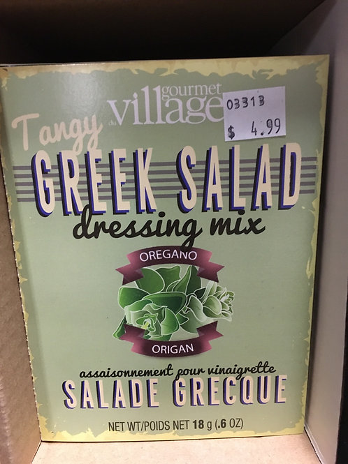 Tangy Greek Salas Dressing Mix