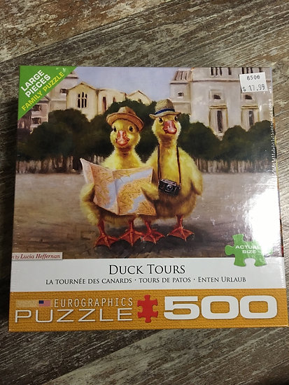 Duck Tours - 500pc puzzle