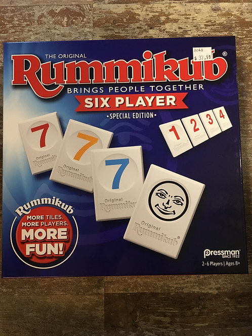 6 Player Rummikub