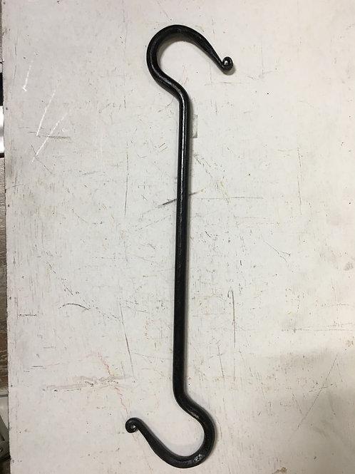Large Cast Iron Double Sided Hook