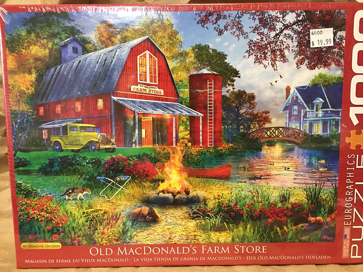 Old Macdonald's Farm Store- 1000 Piece Puzzle