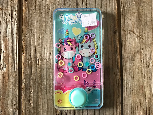 """""""Unicorn"""" Ring Toss 5.5"""" x 2.75"""" Water Game by CLS"""