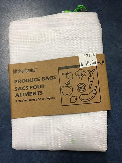 Produce Bags -3 Medium set