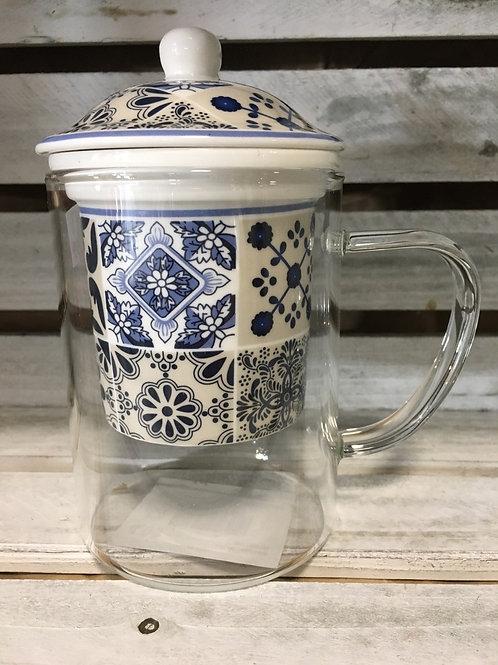 Glass Mug with Infuser
