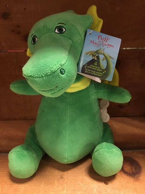 Puff the Magic Dragon Windup Musical Plush Stuffed Animal