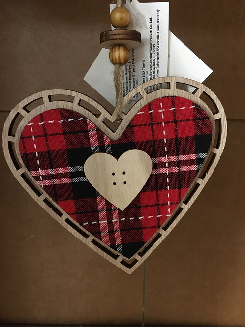 Plywood Tree Ornament
