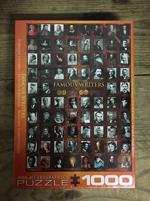 Famous Writers - 1000pc Eurographic