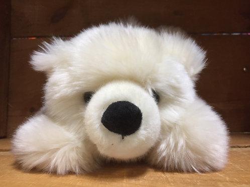 Polar Bear Hand Puppet Plush Stuffed Animal